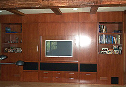 originally a custom cabinetry business