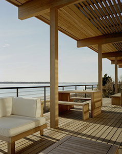Cypress Deck and Balcony